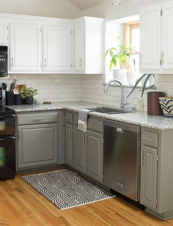 42 Kitchen Decor Grey That Make Your Place Look Cool #Kitchen Decor Grey