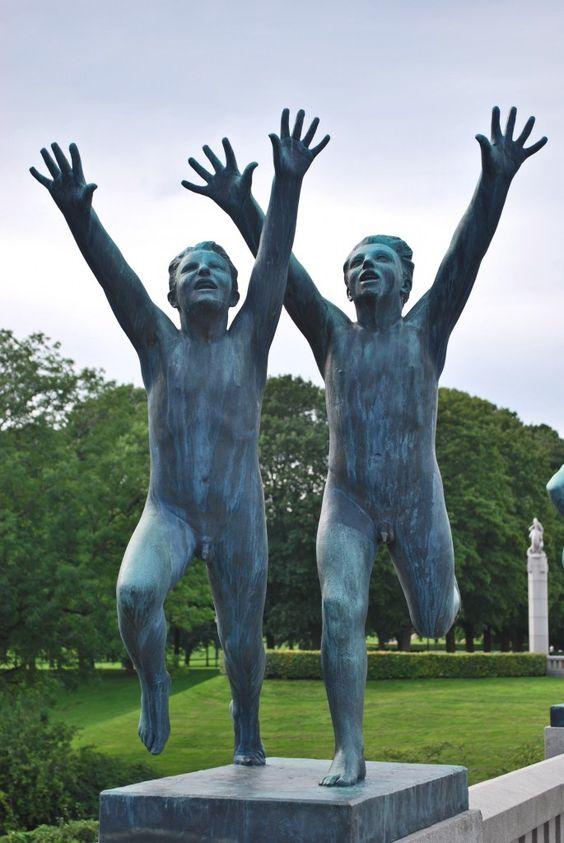 Vigeland Sculpture Park - Oslo, Norway