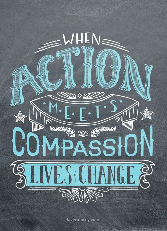 When Action Meets Compassion, lives change.