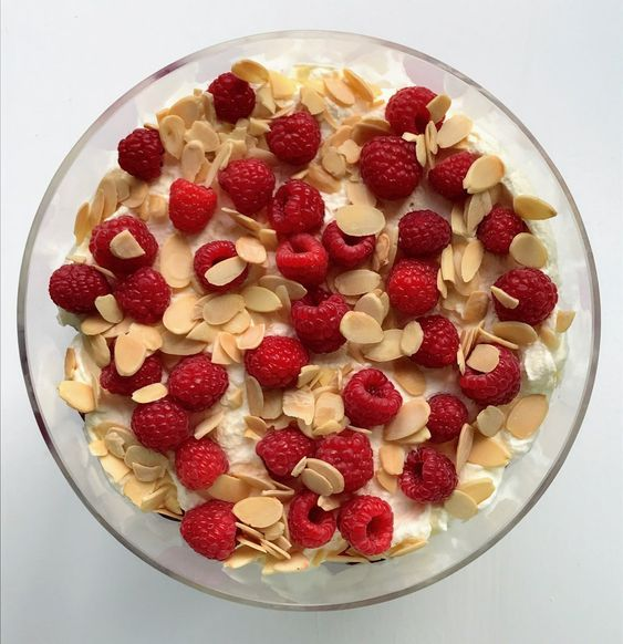 Trifle is a must have on many dessert tables on Christmas Day and your family and friends will absolutely love this keto trifle filled with raspberries