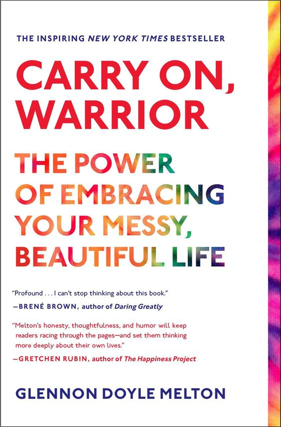 Carry On, Warrior: The Power of Embracing Your Messy, Beautiful Life by Melton, Glennon Doyle Scribner, 2014-04-08. Paperback. New. Publisher's Return. Multiple copies are available. Ships in 1-2 business days! ... more Offered By Beans Books, Inc.