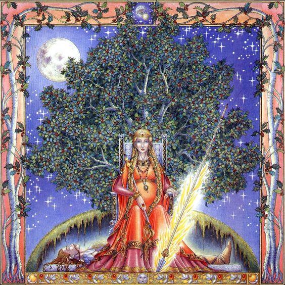 Лунный 13-ти значный Зодиак кельтов_Падуб_Margaret Walty