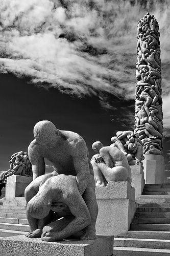 Sculptures of Gustav Vigeland - Oslo - Norway