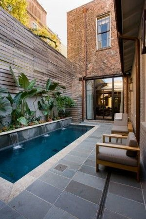Pool Ideas For Backyard With Hill