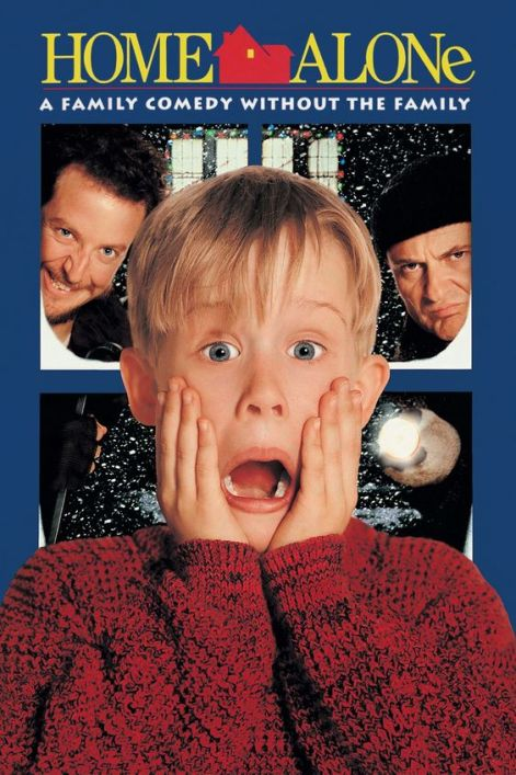 Home Alone - It is Christmas time and the McCallister family is preparing for a vacation in Paris, France. But the youngest in the family named Kevin got into a scuffle with his older brother Buzz and was sent to his room which is on the third floor of his house. Then, the next morning, while the rest of the family was in a rush to make it to the airport on time, they completely forgot about Kevin.
