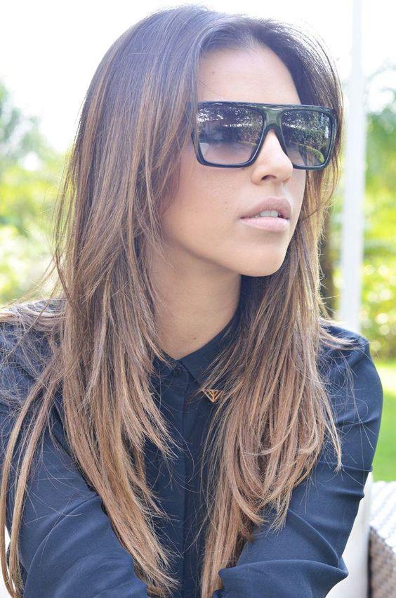 O corte de cabelo em V volta a ser uma tendência. Confira diferentes estilos, dicas e muitas fotos de incríveis corte de cabelo em V.