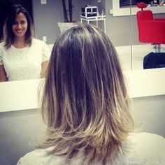 ombre com luzes cabelo chane - Pesquisa Google