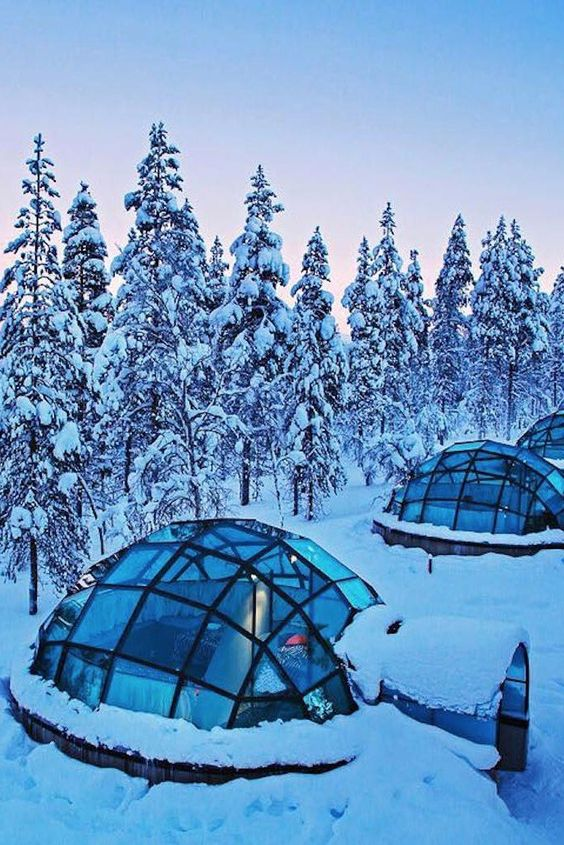 So Cool! Stay Inside a Glass Igloo at This Arctic Resort in Finland