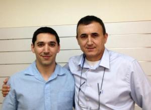 Felix Roas and Tzafrir Tzour Communication consultants
