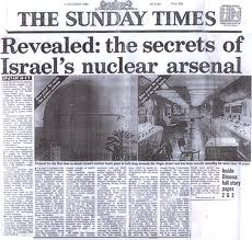 Sunday Times Headlines: Revealed the secrets of Israel's nuclear arsenal