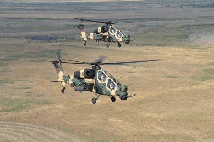 T-129 Attack Helicopter. Photo: TAI