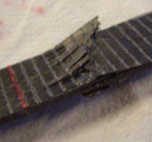 Fig. 4 - breaking sample