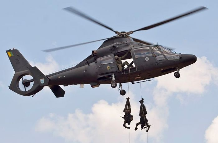 800 - Brazilian helicopter