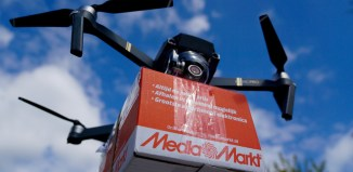 using uavs for delivery
