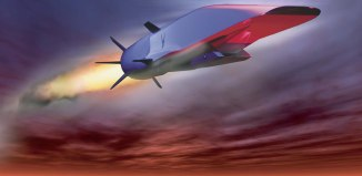 X-51A_Waverider טילים היפרסוניים מסוג