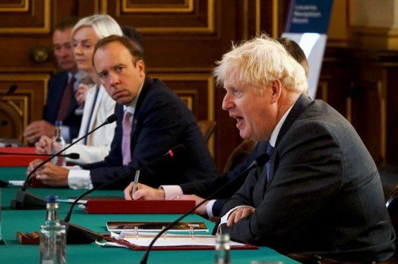 Boris Johnson and Health Secretary Matt Hancock are being urged to act over a lack of tests in the community