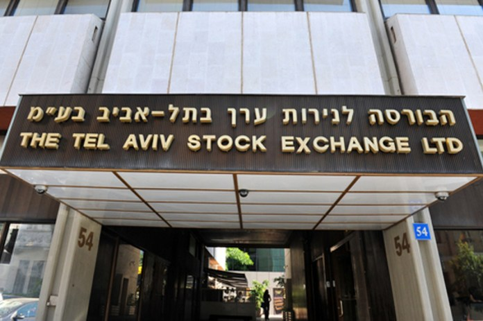 Israel stocks lower at close of trade; TA 35 down 0.16%