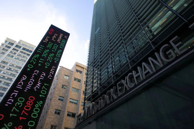 © Reuters.  Israel stocks higher at close of trade; TA 35 up 0.18%