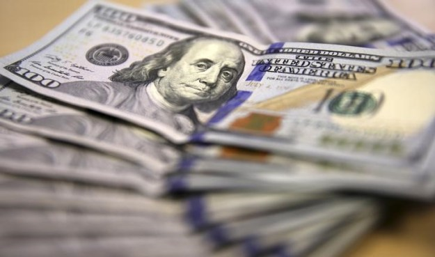 © Reuters. The U.S. dollar fell on Tuesday.