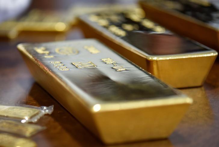 © Reuters.  I futures dell'Oro in rialzo durante la sessione Asiatica