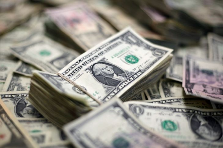 © Reuters.  Dollar builds on gains, rises to 1-1/2-month highs