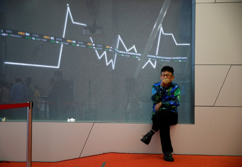 © Reuters.  Indonesia stocks higher at close of trade; IDX Composite Index up 0.04%