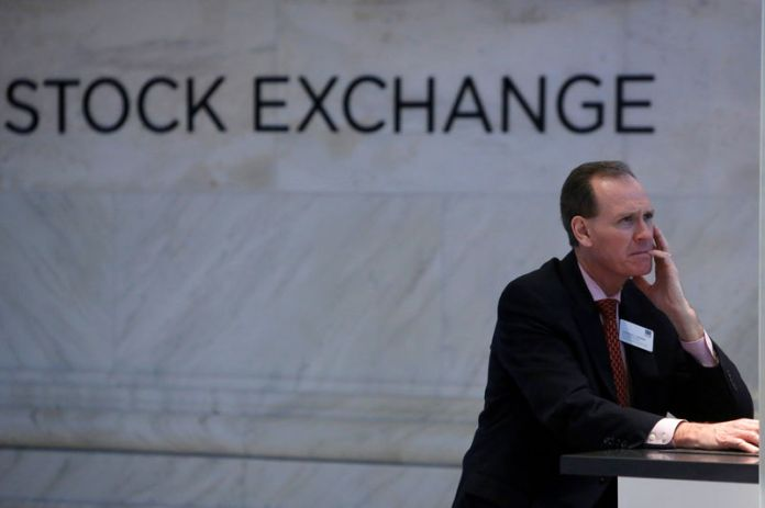 © -.  U.S. stocks lower at close of trade; Dow Jones Industrial Average down 0.07%