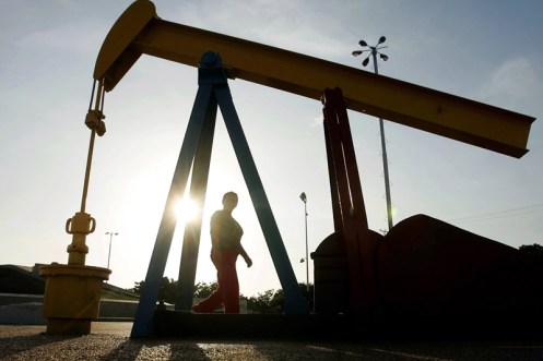 Oil prices fell slightly on Monday morning in Asia