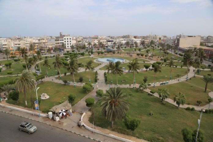 © Reuters. view of the Red Sea port city of Hodeidah, Yemen