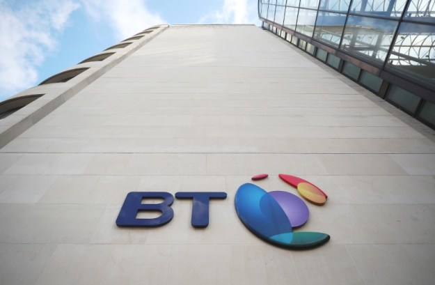 © Reuters. British Telecom (BT)'s headquarters is seen in central London