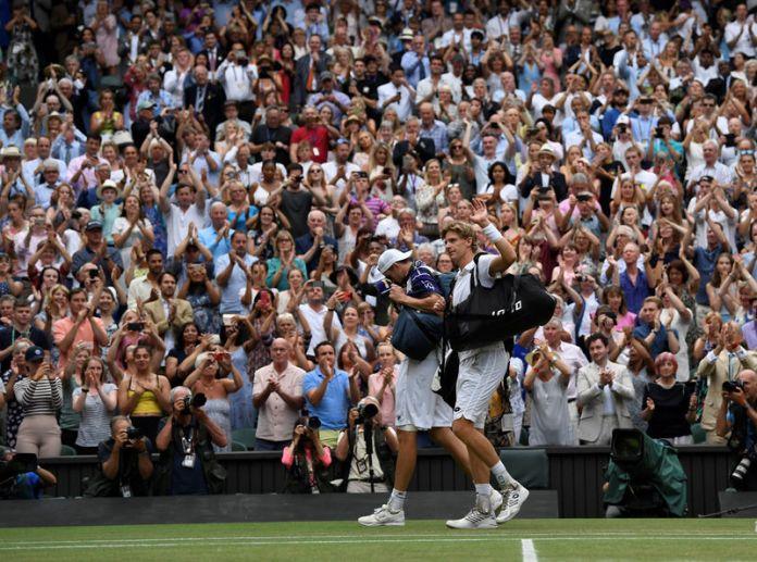 © Reuters. Wimbledon