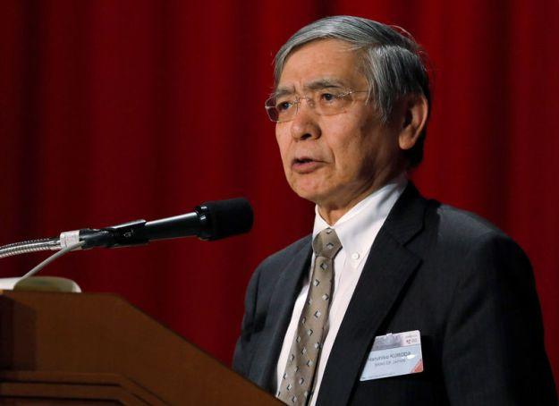 © Reuters. BOJ Governor Kuroda attends the Paris Europlace International Financial Forum in Tokyo
