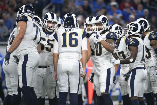 © Reuters. NFL: Los Angeles Rams at Detroit Lions