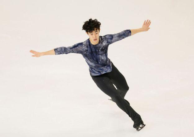 © Reuters. ISU Grand Prix of Figure Skating - 2018 Internationaux de France