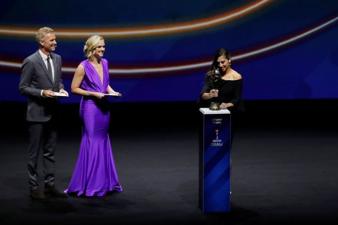 © Reuters. 2019 FIFA Women's World Cup Draw