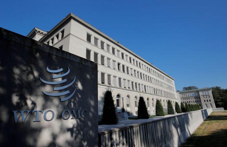 © Reuters. FOTO DE ARCHIVO: La sede de la Organización Mundial del Comercio (OMC) se muestra en Ginebra