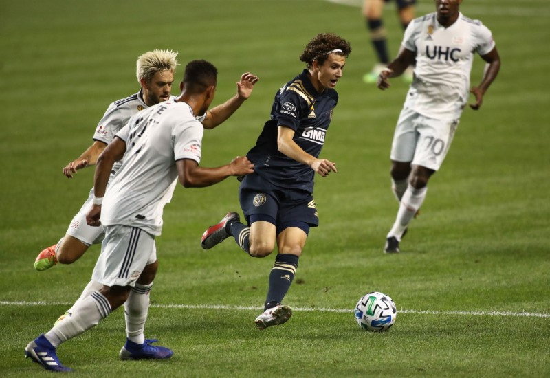© Reuters. MLS: New England Revolution at Philadelphia Union