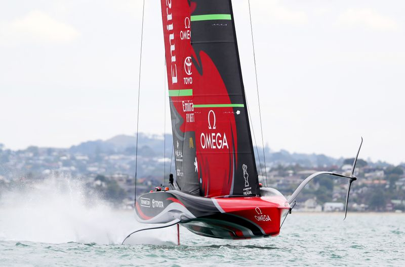Sailing: A tale of two starts, America's Cup all square after day one
