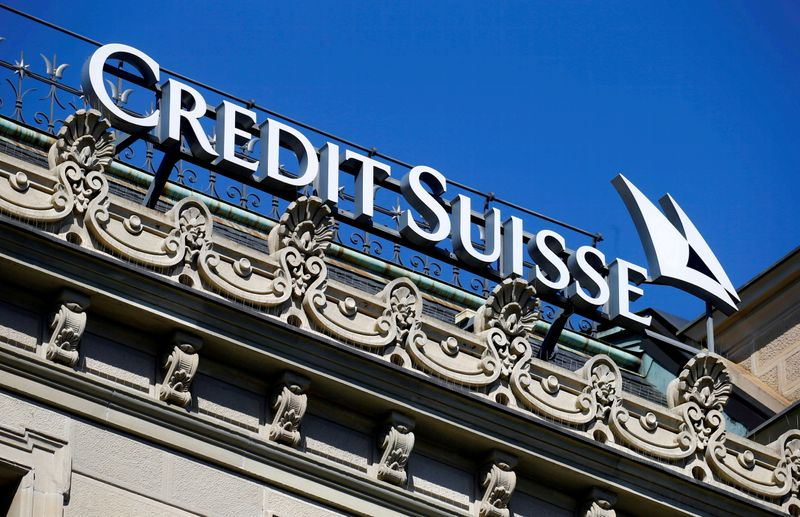 New Credit Suisse chairman eyes risk and culture, strategic options