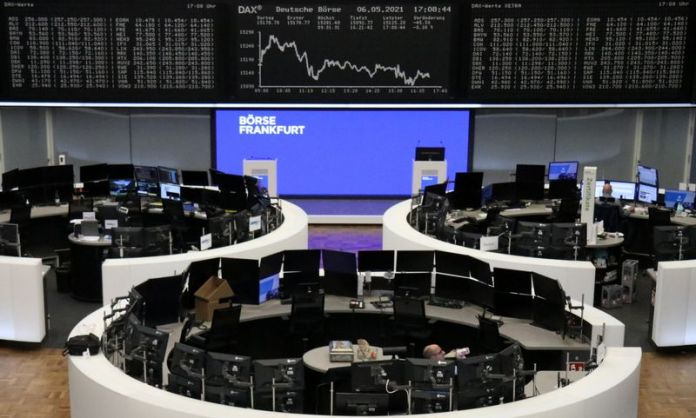 European shares closed lower on the back of travel sector losses