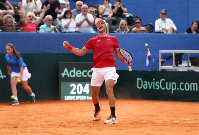 © Reuters. Davis Cup - World Group Semi-Final - Croatia v United States