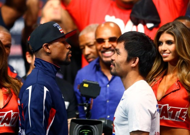 © Reuters. Boxing: Mayweather vs Pacquiao-Weigh Ins