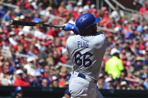© Reuters. MLB: Los Angeles Dodgers at St. Louis Cardinals