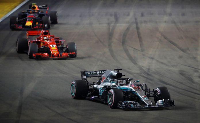 © Reuters. Formula One - F1 Singapore Grand Prix