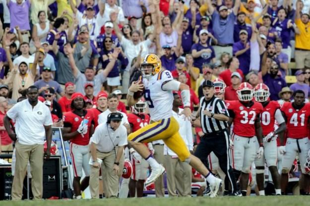 © Reuters. NCAA Football: Georgia at Louisiana State