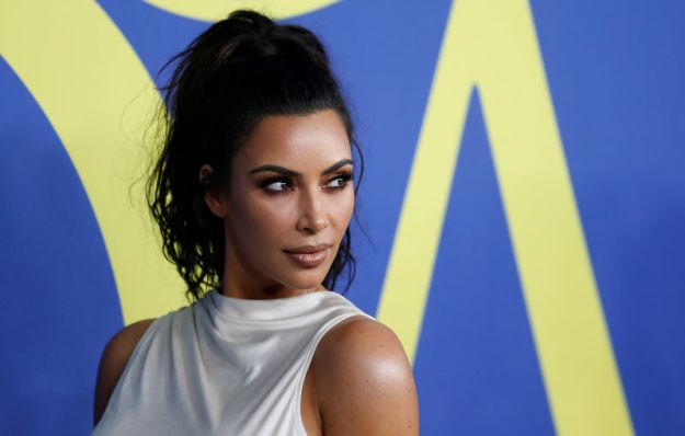 © Reuters. FILE PHOTO: Kim Kardashian attends the CFDA Fashion awards in Brooklyn