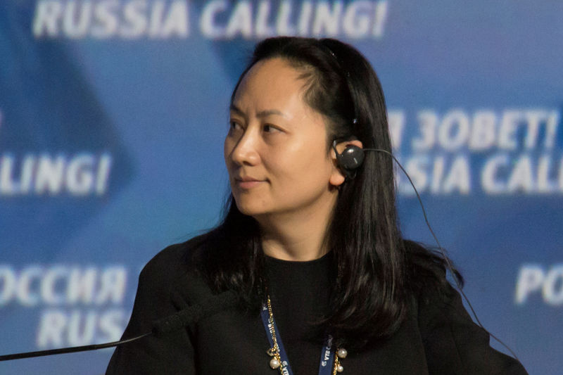 © Reuters. FILE PHOTO: FILE PHOTO: Huawei's Executive Board Director Meng Wanzhou attends the VTB Capital Investment Forum
