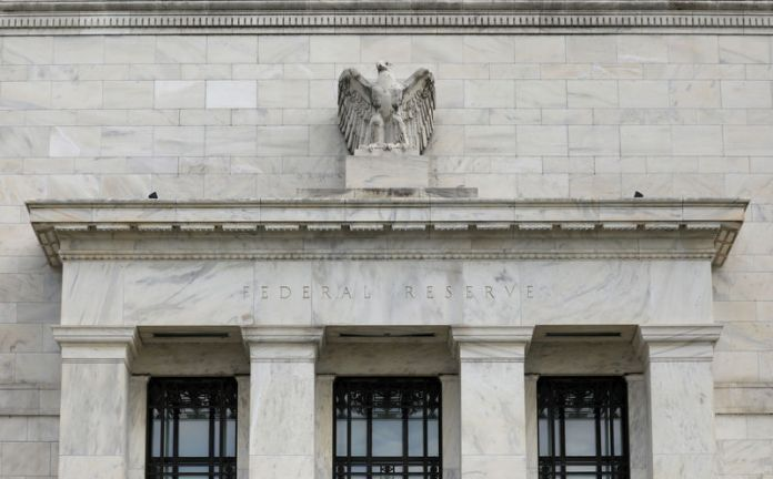 © Reuters. FILE PHOTO: FILE PHOTO: The Federal Reserve building is pictured in Washington, DC