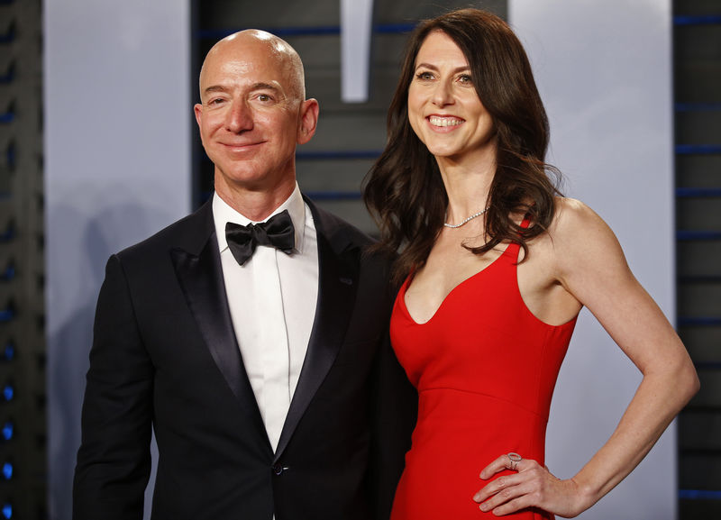 MacKenzie Bezos pledges half her fortune to charity after Amazon divorce