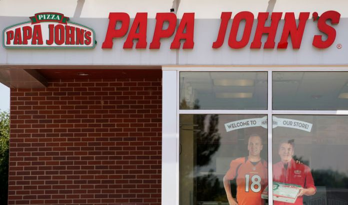 © -. The Papa John's store in Westminster